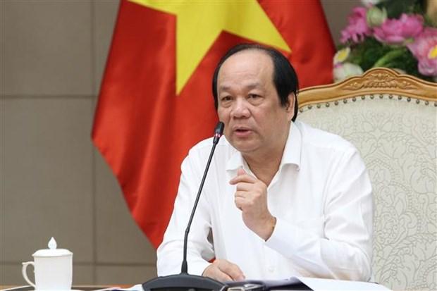 梅进勇部长:开展在线公共服务工作有助于节省人民和企业的时间和费用 hinh anh 1