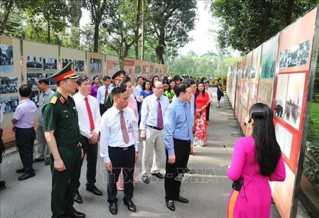 胡志明主席专题展活动在主席府举行 hinh anh 2