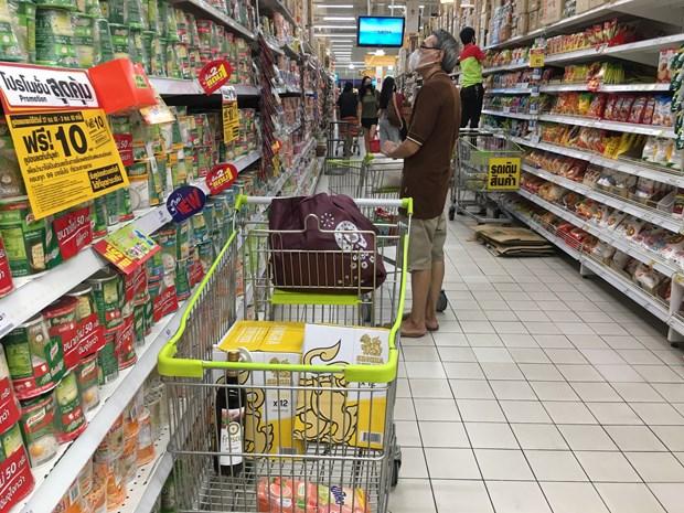 泰国4月消费者物价指数同比下降2.99% 创近11年来新低 hinh anh 1