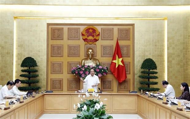 """阮春福总理:应为政府与企业会议""""营造新气氛"""" hinh anh 1"""