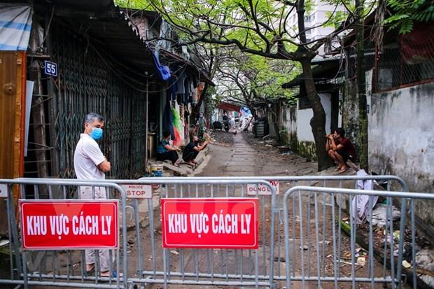 越南连续20天无新增社区传播病例 hinh anh 1