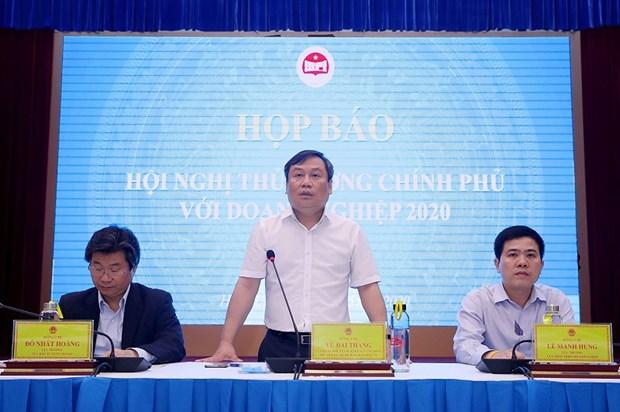 越南政府总理与企业对话会召开在即 hinh anh 1