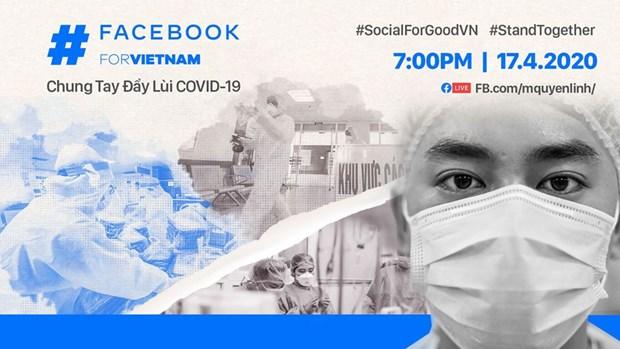 #SocialForGoodVN 活动为抗击新冠肺炎疫情作出了积极的贡献 hinh anh 1