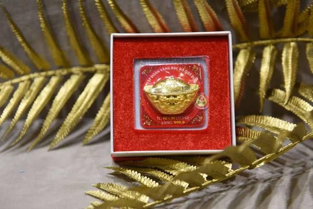 5月7日越南国内黄金价格下降25万越盾 hinh anh 1