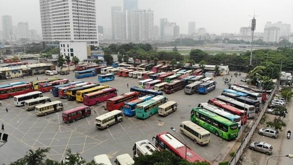 越南国内客运服务自5月8日零时起恢复正常 hinh anh 1