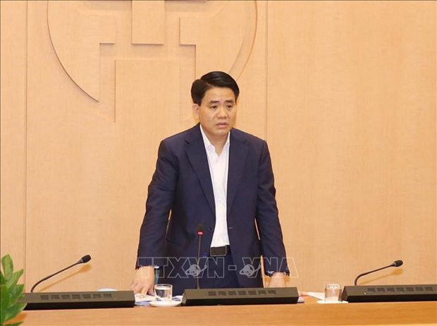 阮德钟:决不能让疫情防控向好形势逆转 为经济社会发展提供安全保障 hinh anh 1
