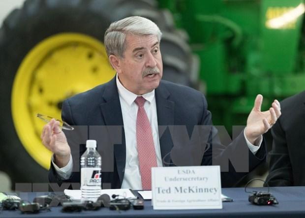 在新形势下越美两国加强农业领域合作 hinh anh 1