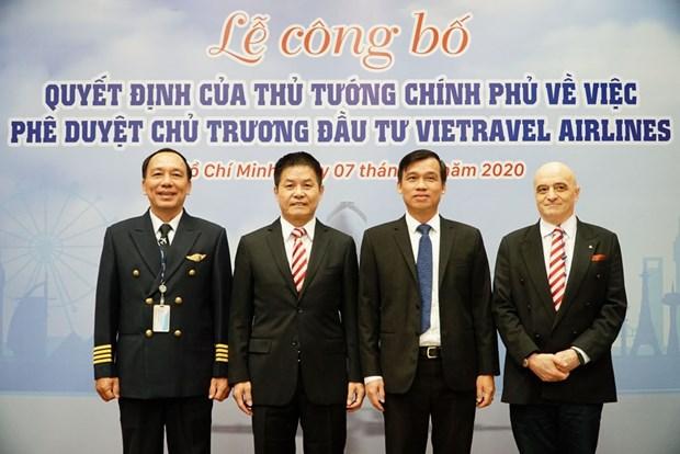 """越游航空公司有望于2021年初正式""""起飞"""" hinh anh 1"""