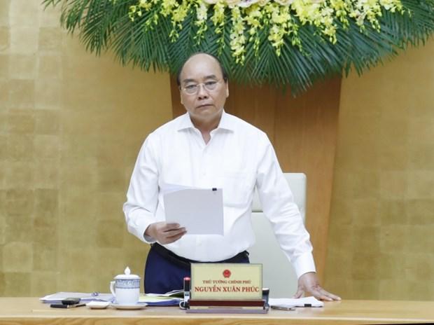 政府总理在政府常务委员会新冠肺炎疫情防控工作会议上作出结论 hinh anh 1