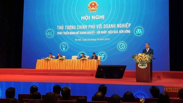 政府总理与企业对话会前夕:激发和点燃企业的信心 hinh anh 1