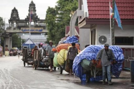 2020年第一季度泰国的边境和跨境贸易同比下降了7.6% hinh anh 1