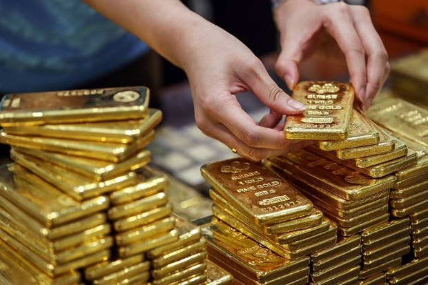 5月8日越南国内黄金价格上调35万越盾 hinh anh 1