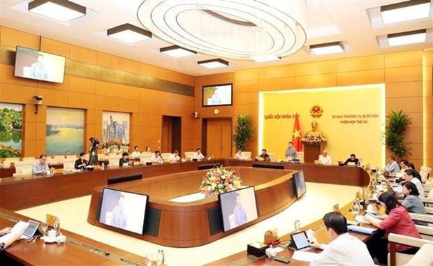 越南国会常委会第45次会议开幕 hinh anh 2