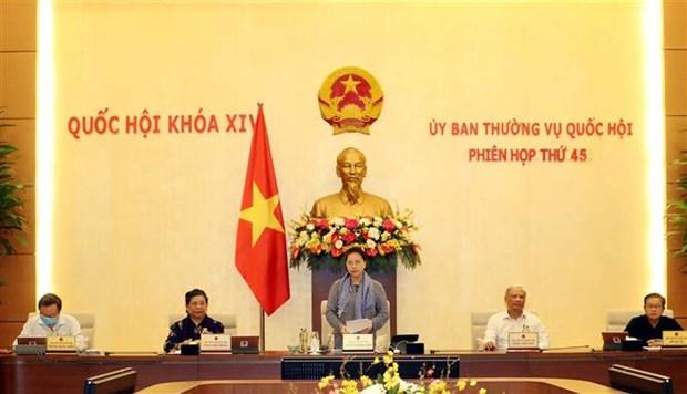 越南国会常委会第45次会议开幕 hinh anh 1