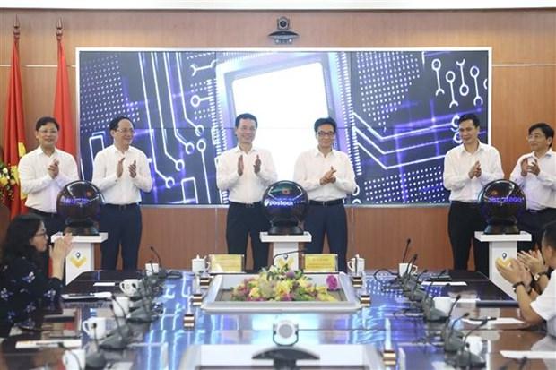 越南政府副总理武德儋出席Vpostcode邮政地址编码平台上线仪式 hinh anh 1