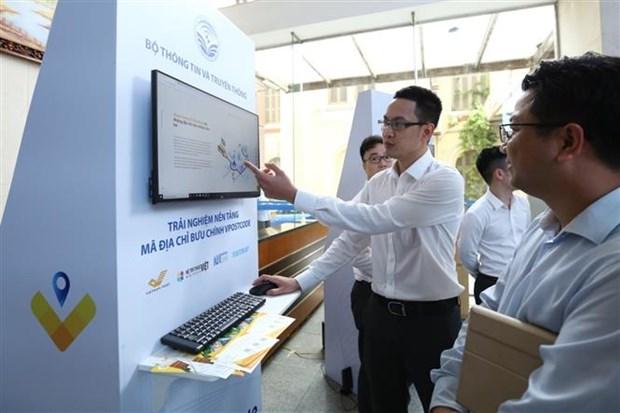 越南政府副总理武德儋出席Vpostcode邮政地址编码平台上线仪式 hinh anh 2
