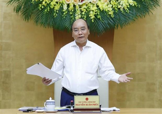 政府总理阮春福:胡志明市需重新回到全国经济增长火车头的地位 hinh anh 1