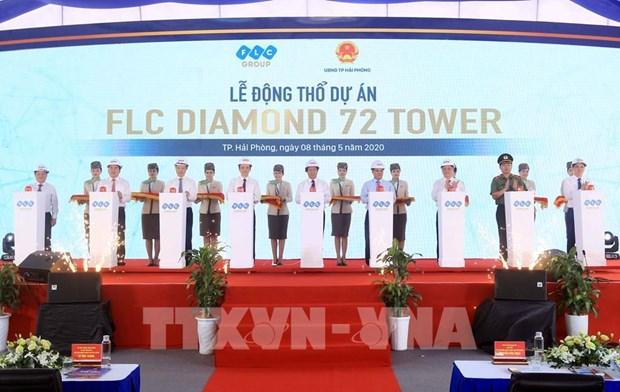 Diamond 72 Tower项目动工兴建 hinh anh 1