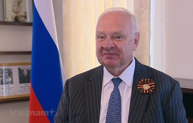 俄罗斯驻越大使:越南始终支持俄罗斯在重大国际事务中的立场 hinh anh 1