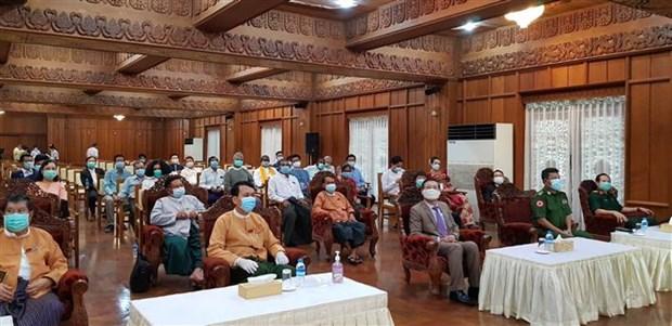 旅居缅甸越南人助力仰光省疫情防控工作 充分彰显两国人民团结协作精神 hinh anh 2