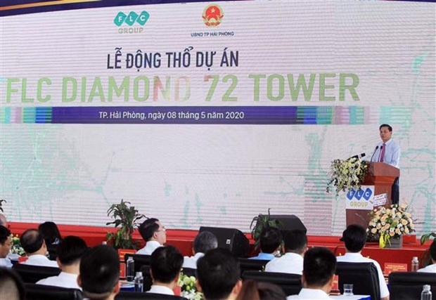 Diamond 72 Tower项目动工兴建 hinh anh 2