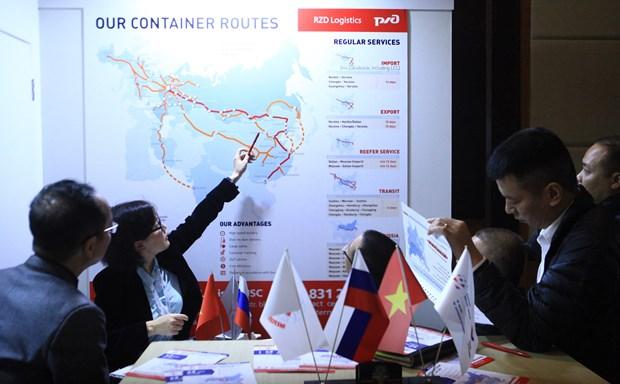俄罗斯与越南开通铁路联运班列 hinh anh 1