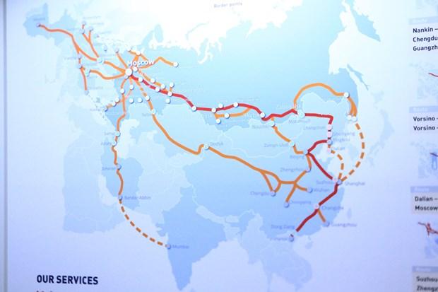 俄罗斯与越南开通铁路联运班列 hinh anh 2