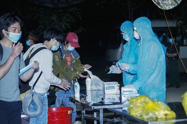 越南连续24天无新增本地新冠肺炎确诊病例 从美国回来的161名公民经取样检测都呈阴性反应 hinh anh 1