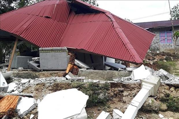 印尼东部发生5.7级地震 hinh anh 1