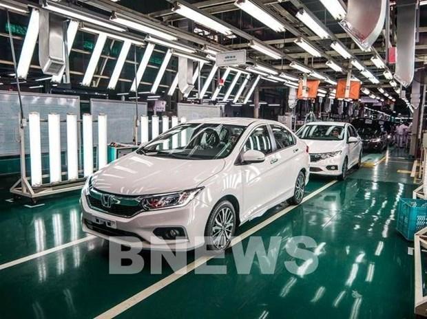 本田摩托车和汽车销量下降72% hinh anh 1