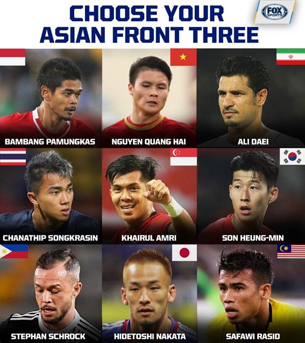 阮光海跻身亚洲足球史上最佳进攻球员名单 hinh anh 1