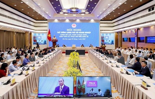 政府总理与企业会议:积极建言献策 点燃增长之火 hinh anh 1
