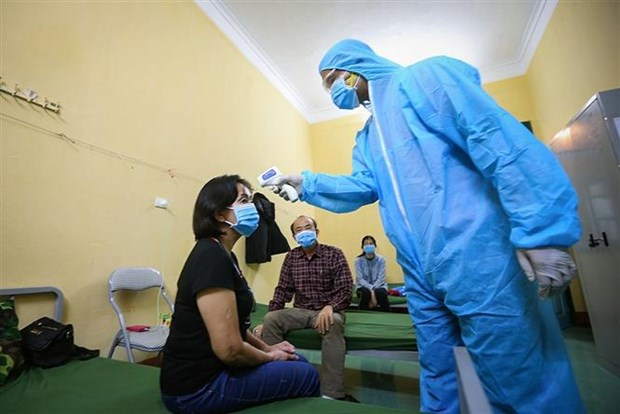 新冠肺炎疫情:越南新增治愈病例8例 正在接受治疗的只有39例 hinh anh 1