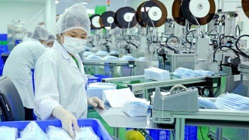 越南企业迎来向美国和欧洲出口口罩的机会 hinh anh 1