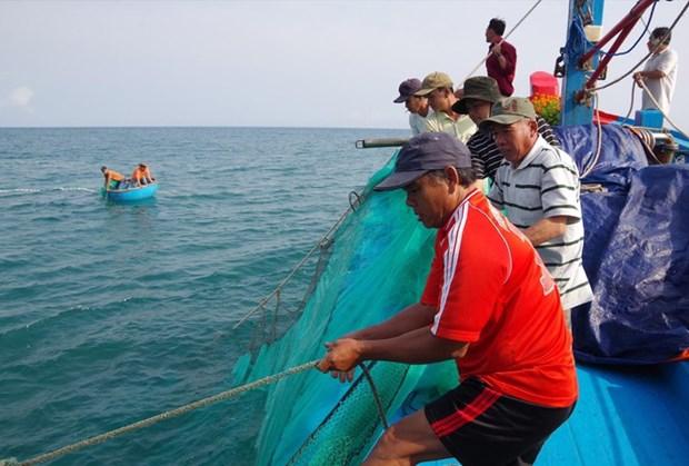 广义省渔民坚持出海捕捞并捍卫祖国海洋岛屿主权 hinh anh 2