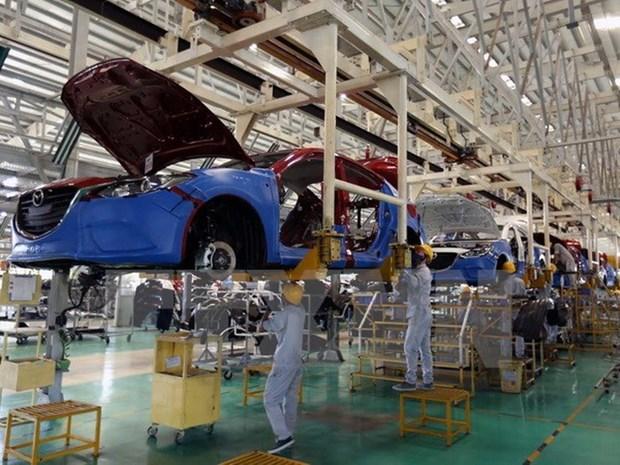 2020年4月越南汽车销量下降近40% hinh anh 1