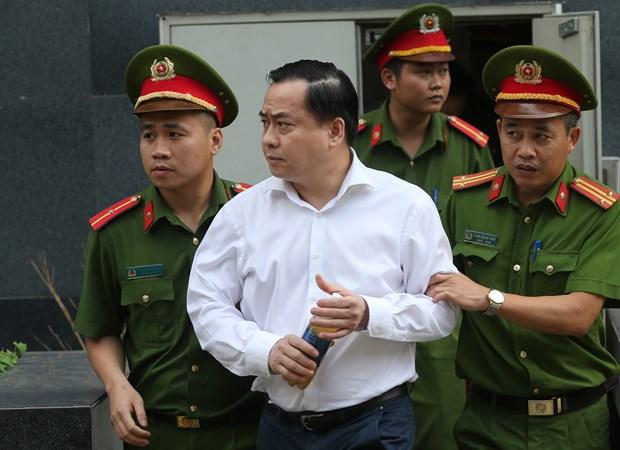 岘港市两名原领导案件二审法院维持一审对被告陈文明的原判 hinh anh 2