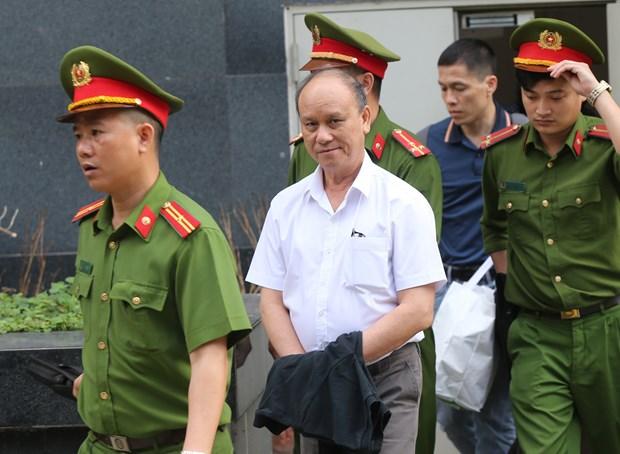 岘港市两名原领导案件二审法院维持一审对被告陈文明的原判 hinh anh 1