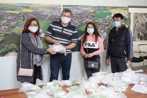 新冠肺炎疫情:越南驻瑞士代表机构同越侨同胞并肩同行 hinh anh 2