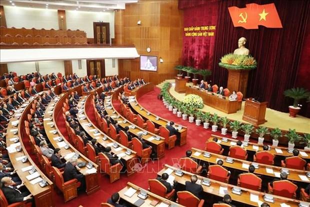 越共十二届中央委员会第十二次全体会议公报(第四号) hinh anh 1