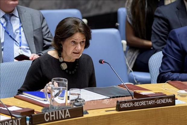 越南呼吁各国和国际组织继续向黎巴嫩提供援助 hinh anh 1