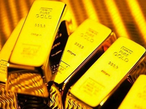 5月14日越南国内黄金价格上涨12万越盾 hinh anh 1