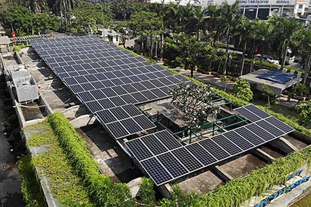 胡志明市电力公司与各家公司加强合作 促进太阳能发电领域合作力度 hinh anh 2