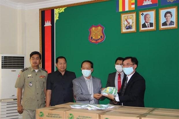 红十字国际委员会高度评价越南对柬埔寨防疫工作提供的帮助 hinh anh 1
