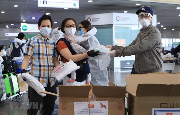 越南新增一例境外新冠肺炎输入性病例 是从迪拜回国的越南公民 hinh anh 1