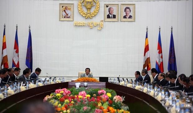 柬埔寨内阁通过反洗钱法案 hinh anh 1