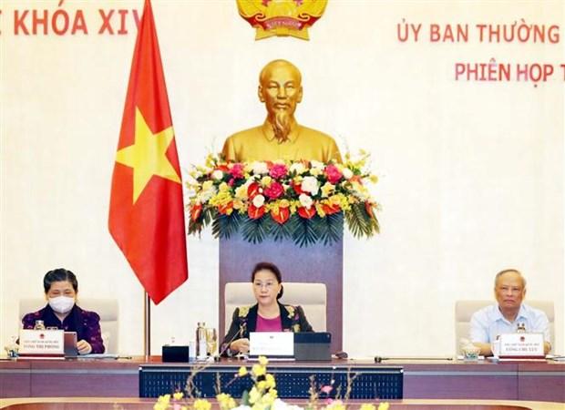 越南国会常委会第45次会议:主动制定短期、长期经济社会发展方案 hinh anh 3