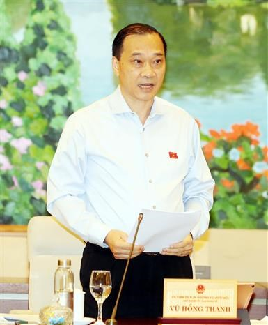 越南国会常委会第45次会议:主动制定短期、长期经济社会发展方案 hinh anh 2