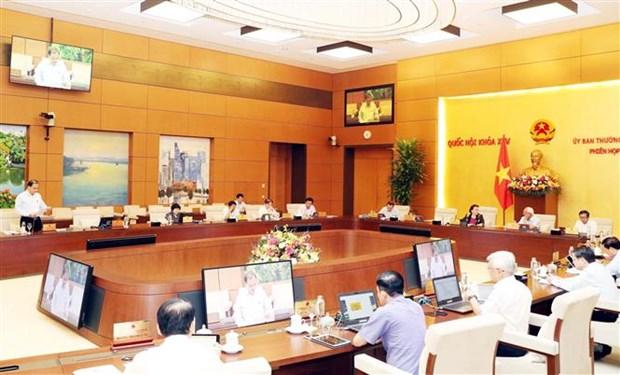 越南国会常委会第45次会议:主动制定短期、长期经济社会发展方案 hinh anh 1