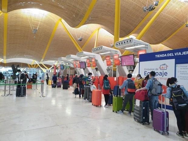 越南将滞留在西班牙和部分欧洲国家的公民接回国 hinh anh 1